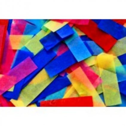 SFAT Confetti RECTANGULAR -10 kg Multicolor