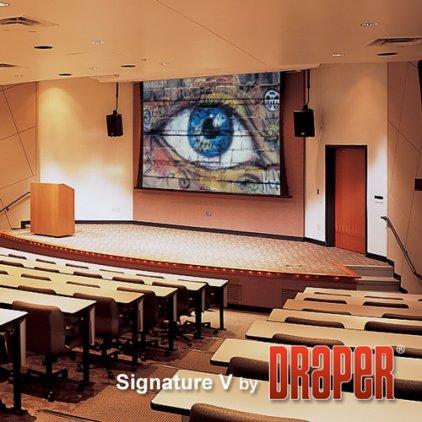 "Экран Draper Signature/V HDTV (9:16) 490/193"" 240*427 М1300 ebd 12"""