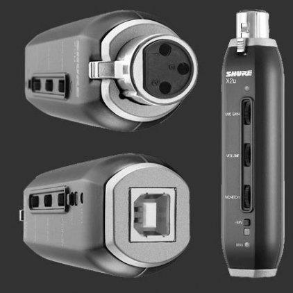 Shure X2U XLR-to-USB