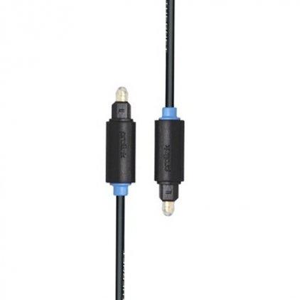 Оптический кабель Prolink PB111-0100 (Toslink - Toslink (M-М), цифровое-аудио, 1м)