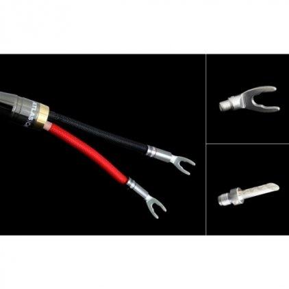 Акустический кабель Atlas Mavros Wired (2x4) 2.0m Transpose Spade Silver
