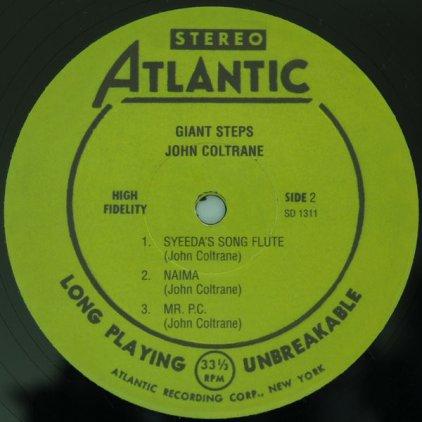 Виниловая пластинка John Coltrane GIANT STEPS (180 Gram)