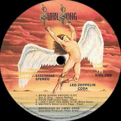 Led Zeppelin CODA (Remastered/180 Gram/Gatefold sleeve)