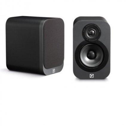 Q-Acoustics Q3020 leather effect