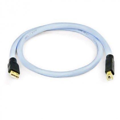 Supra USB 2.0 A-B Blue 4.0m