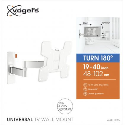 Vogels WALL3145 White