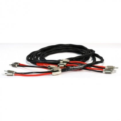 Акустический кабель Black Rhodium Athena DCT++ 2.5m Rhodium Plated Banana Plug
