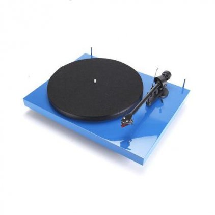 Pro-Ject Debut Carbon Phono USB (DC) blue (Ortofon OM10)