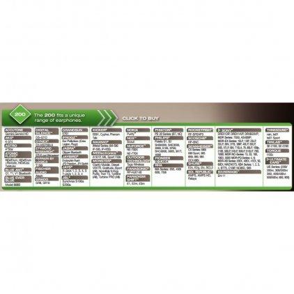 Comply S-200 CH-Asst. (3 пары)