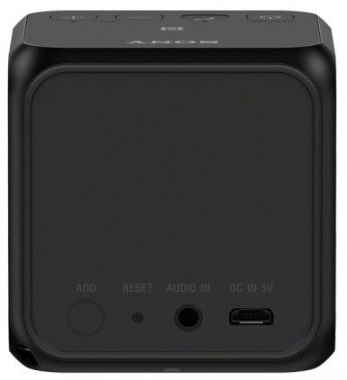 Портативная акустика Sony SRS-X11 black