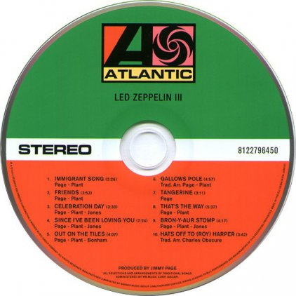 Виниловая пластинка Led Zeppelin LED ZEPPELIN III (Super Deluxe Edition Box set/Remastered/2CD+2LP/180 Gram/Hardbound 80-page book)