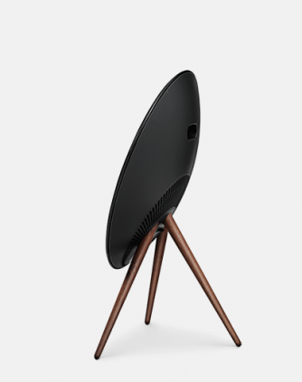 Bang & Olufsen BeoPlay A9 incl. front cover, walnut legs, black