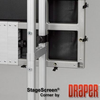 "Draper Stagescreen NTSC (3:4) 1143/450"" 686*914 Cineflex"