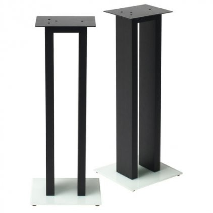 Стойка NorStone Kubben Stand Version B dark rosewood/white glass