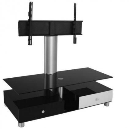 Подставка под ТВ и HI-FI Ultimate CASI 556 black/white