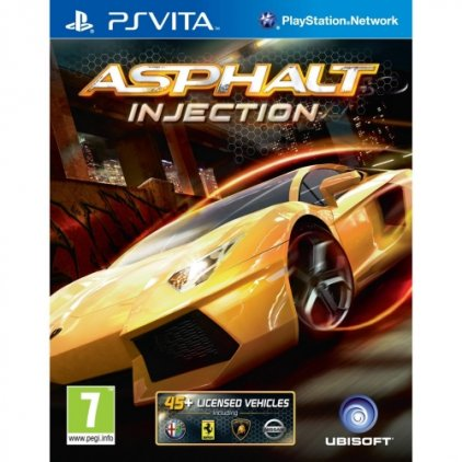 Игра для PS Vita Asphalt Injection (русская документация)