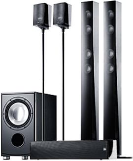Canton CD 1090 black high gloss (пара)