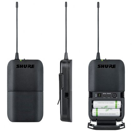 Shure BLX14RE/MX53 K3E 606-638 MHz