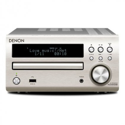CD ресивер Denon RCD-M40 Premium silver