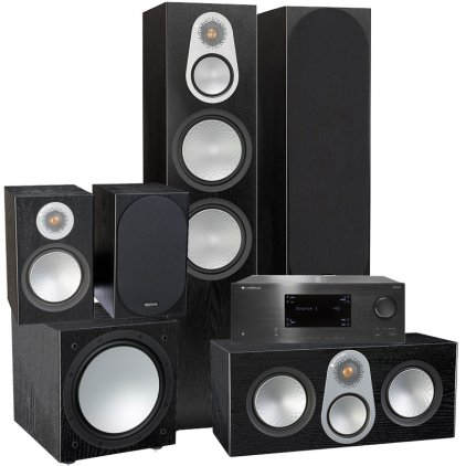 PULT.RU №139 (Cambridge + Monitor Audio Silver)