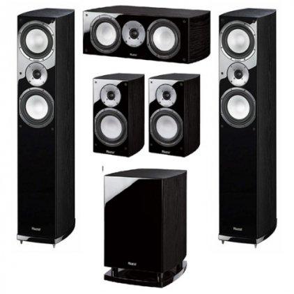Комплект акустики Magnat Quantum 675 Set 5.1 black (675+673+67c+6725a)