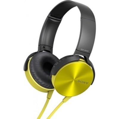Sony MDR-XB450AP yellow