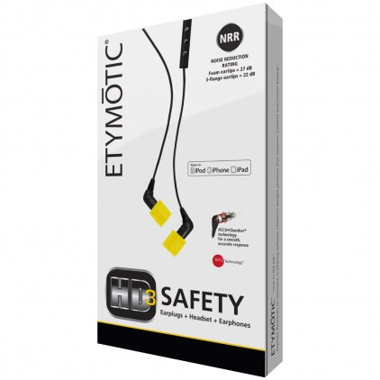 Etymotic ERHD-3-Safety
