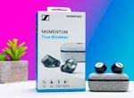 Sennheiser MOMENTUM True Wireless качественный звук и хорошая шумоизоляция