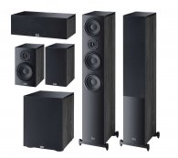 Heco Aurora 700 Set 5.1 (700+300+Center+Sub) black