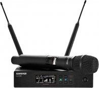 Shure QLXD24E/KSM9 G51 с ручным передатчиком KSM9, частоты 470-534 MHz