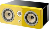 Focal Kanta Center Black HG\ Solar Yellow