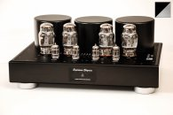 Ламповый усилитель Trafomatic Audio Experience Elegance Power (black/silver plates)