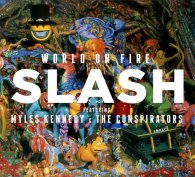 Slash WORLD ON FIRE (Red vinyl/180 Gram)