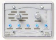 BSS BSS BLU8-WHT программируемая настенная панель управления серии BLU. Цвет белый