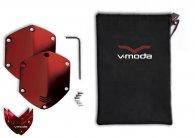 Сменные накладки для наушников V-Moda WIRELESS/M-100/LP2 Over-Ear Metal Shield Kit Red