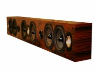 Legacy Audio SoundBar 7 black oak