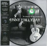 Виниловая пластинка Johnny Hallyday LE COEUR D'UN HOMME (180 Gram/Picture disc)