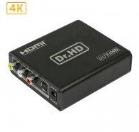 Dr.HD Конвертер CSVB + S-Video в HDMI 4Kx2K / Dr.HD CV 136 CSH