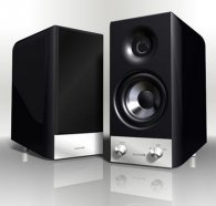 Quadral Rondo aktiv black high gloss