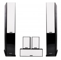 MT-Power Elegance-2 black set 5.0 (white grills)