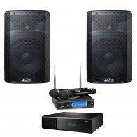Комплект караоке Art-System AST Mini и радиосистема AST-922M + Акустическая система Alto TX210