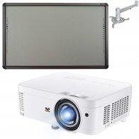Интерактивный комплект ViewSonic PS501X (КФ) + Classic Solution CS-IR-87Ts + Настенное крепление для проектора CS-PRB-5/125W