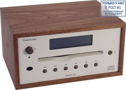 Tivoli Audio Model CD cherry/metallic taupe (MCDTPEB)