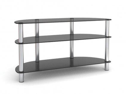 MD 403 Slim серебро/матовое стекло