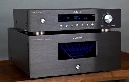 AV процессор A&M AVP 700 3D