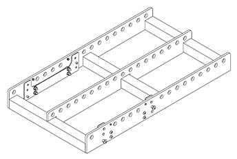 QSC AF3082-L Рама для массива WL3082 и WL212-sw