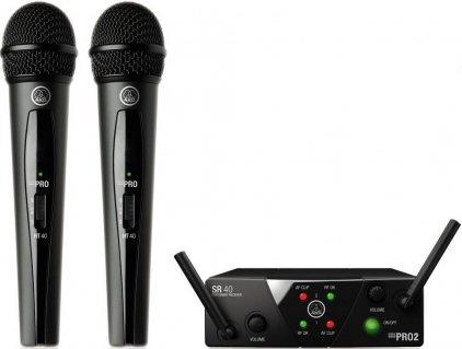 AKG WMS40 Mini2 Vocal Set BD US45A/C (660.700&662.300)