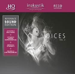 CD диск In-Akustik CD Great Voices Vol. II #0167502