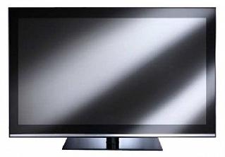 """Hantarex LCD 42"""" Four Stripes Blk/blk черноё стекло, черная"""