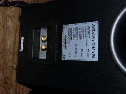 Напольная акустика Quadral Argentum 490 black